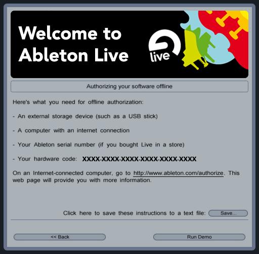 Ableton Live Authorization Code Archives