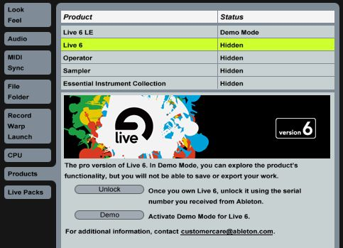ableton live 7 serial number