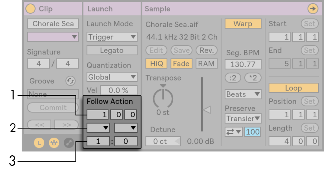 Launching Clips — Ableton Reference Manual Version 10 | Ableton