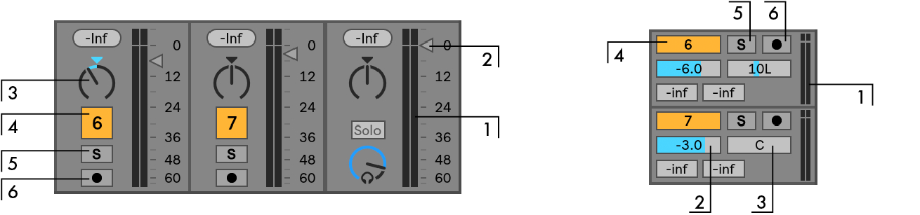 Mixing — Ableton Reference Manual Version 10 | Ableton