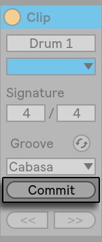 how to use groove ableton