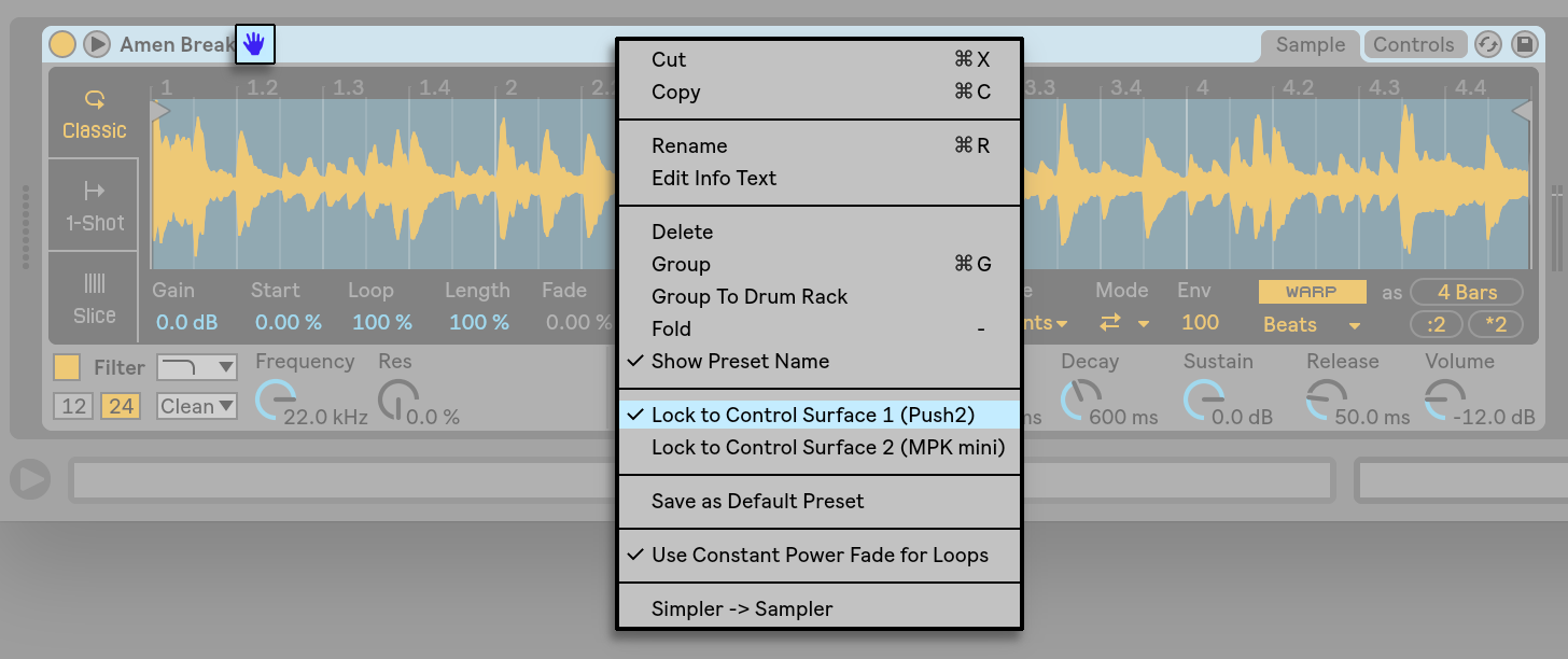 MIDI and Key Remote Control — Ableton Reference Manual Version 10