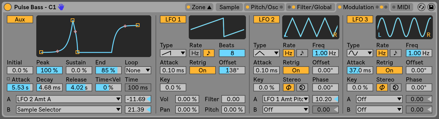 Live Instrument Reference — Ableton Reference Manual Version 10