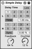 ableton live how to activate metronome sound
