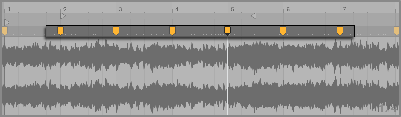 Audio Clips, Tempo, and Warping — Ableton Reference Manual