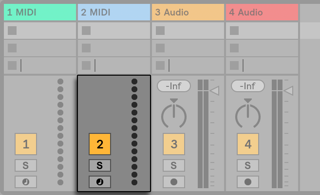 MixerForTrackWOInstrument.png
