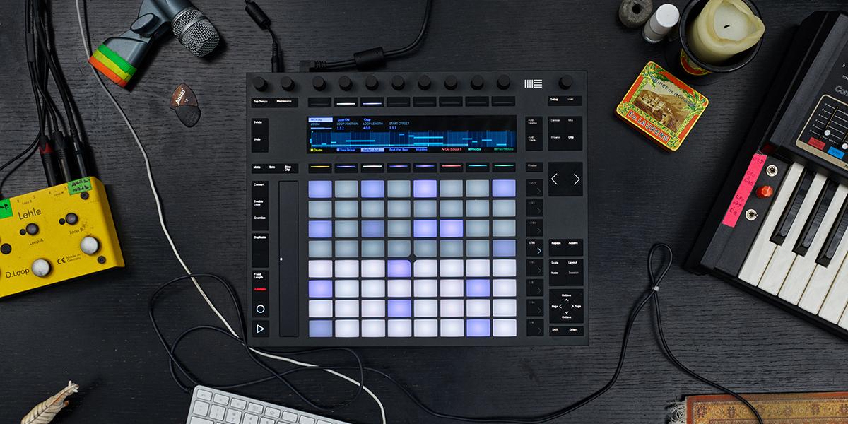 Setting up Push 1 – Ableton