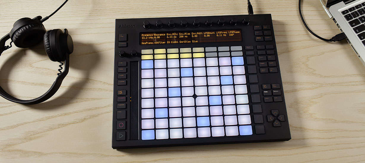 Make music with ableton push ableton for House music maker
