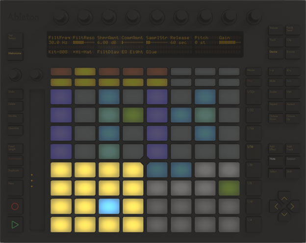 ableton live 9 push controller