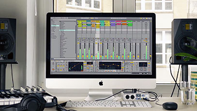 how to set up ableton live 9 on pc