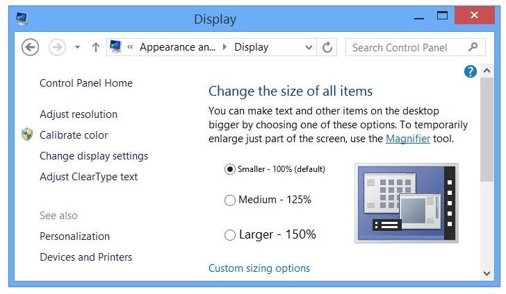 Desktop Zoom