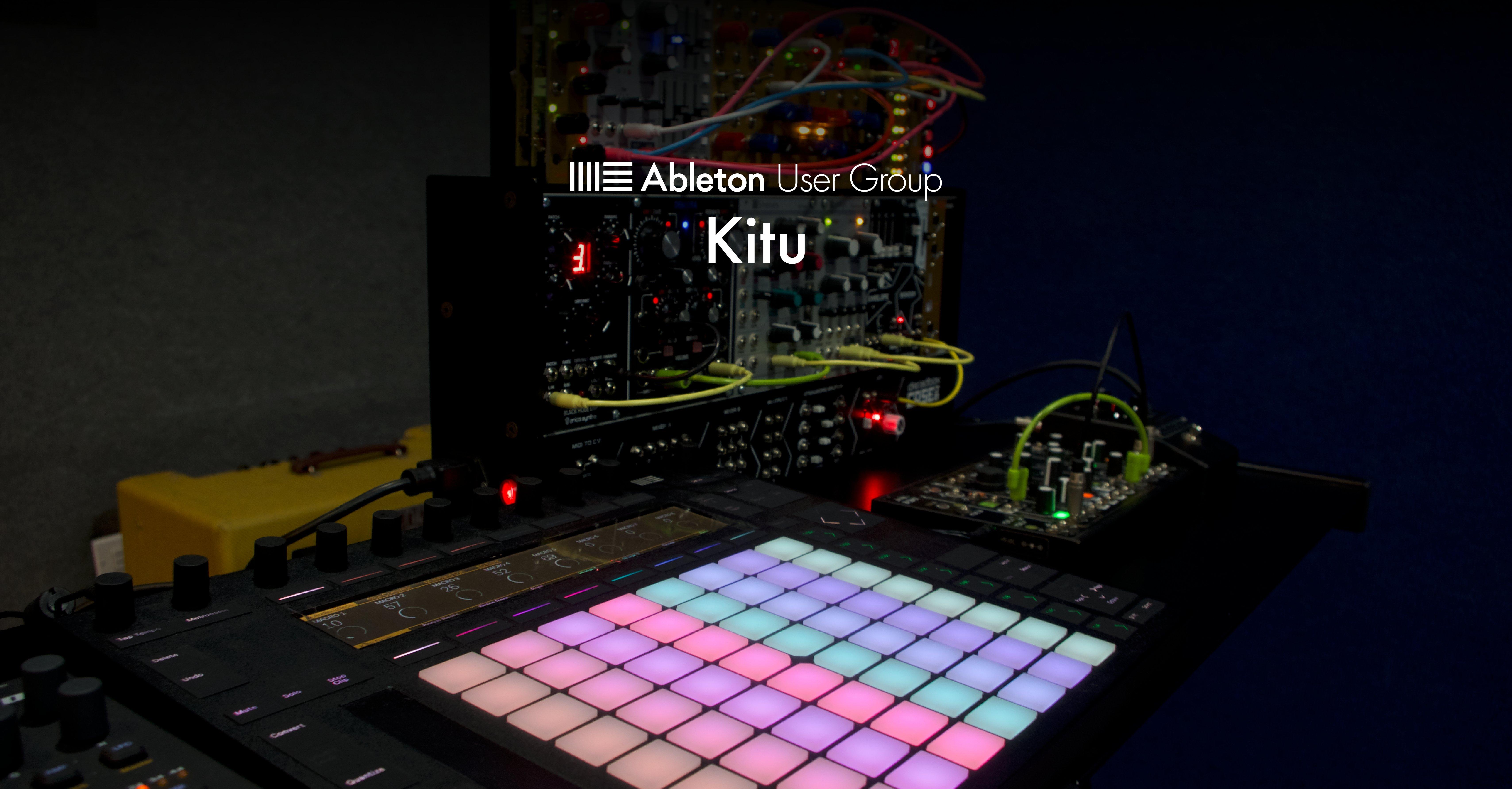 Kitu Ableton User Group Banner.png