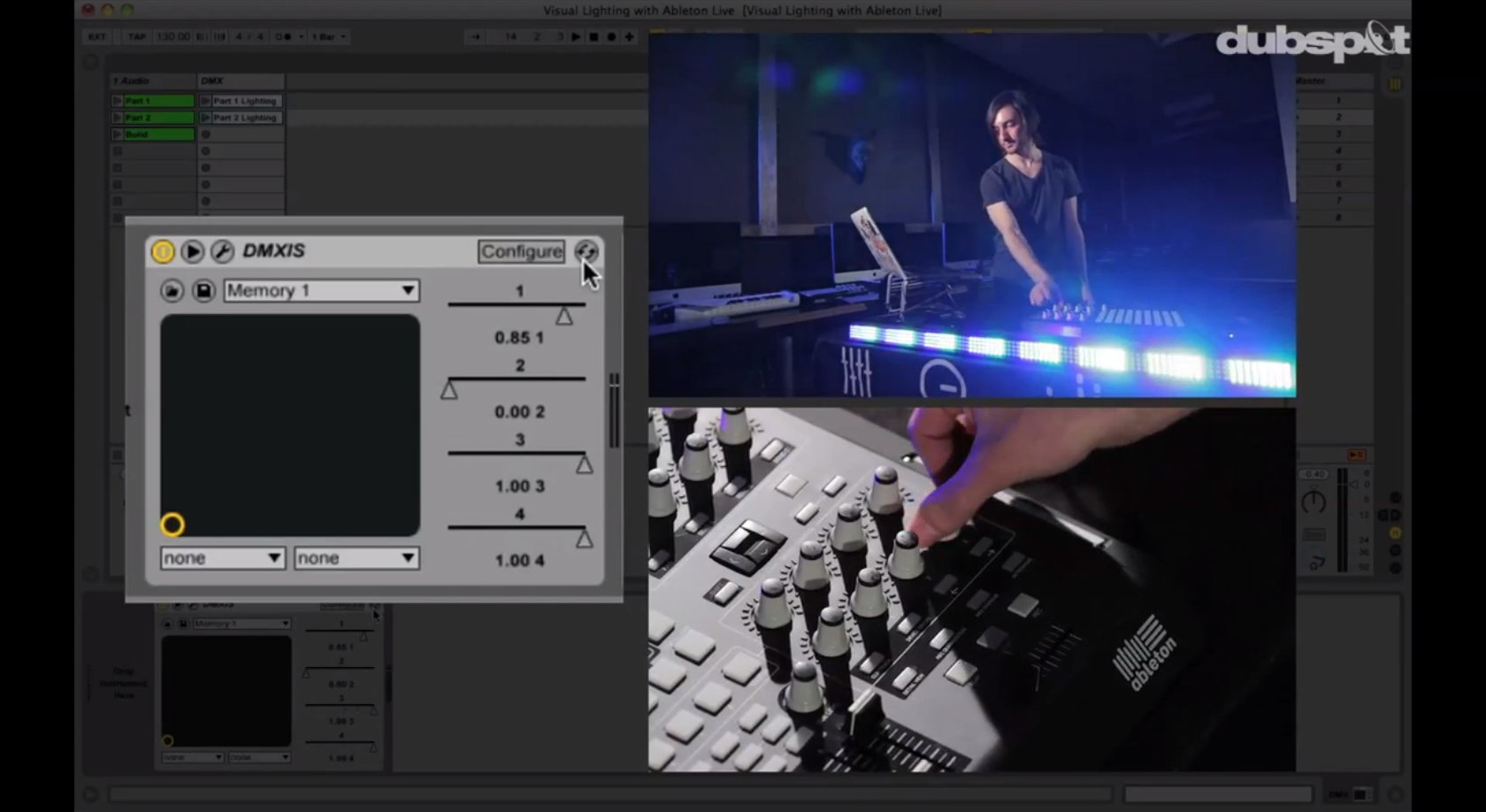 Drum Arpeggiator And Dmx Lighting Control Two New Tutorials From Dubspot