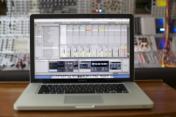 BEAP and modular synths in Stretta's studio