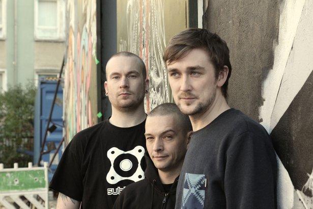 L-R: Rory St. John, Mads Lindgren, Simon Hayes