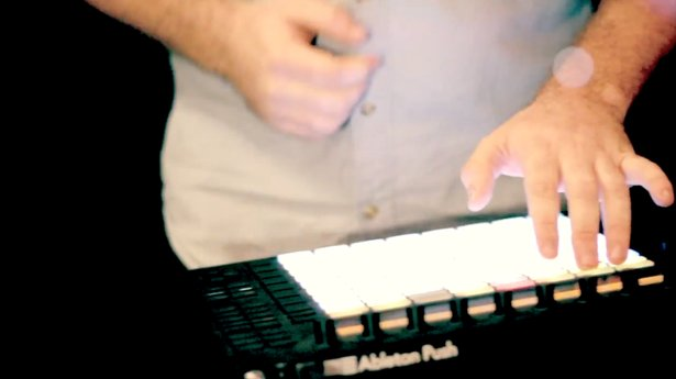 Boombaptist on Ableton Push