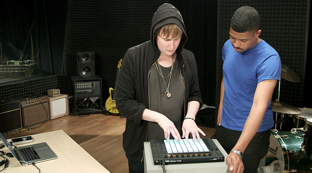 Machinedrum and Lando work with Push