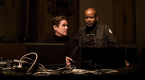 Mortiz von Owald and Juan Atkins