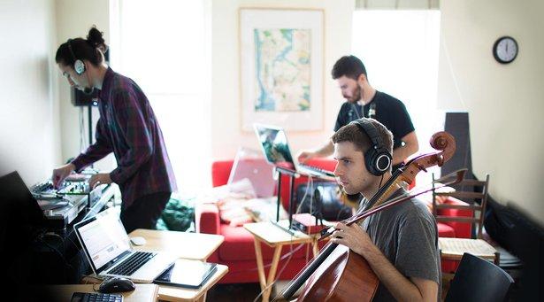 Archie Pelago im Studio