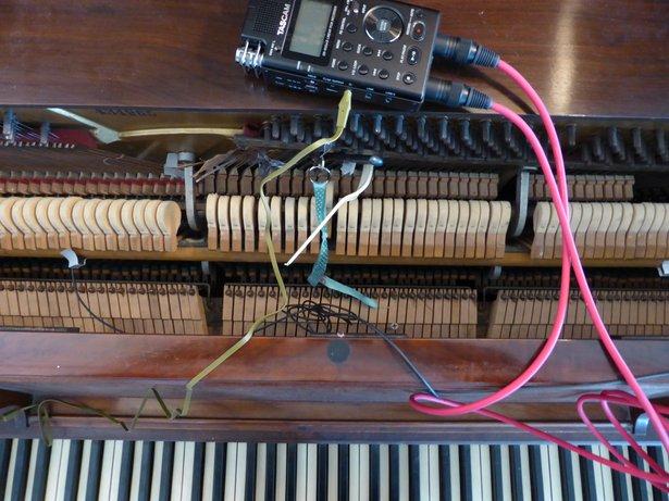 Micah Frank's Prepared Piano