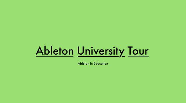 University Tour Header