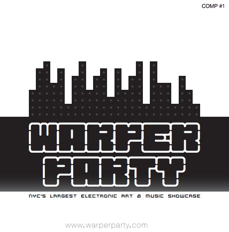Cover art for Warper Party Compilation #1