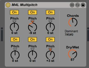 M4L Multipitch by Christian Kleine
