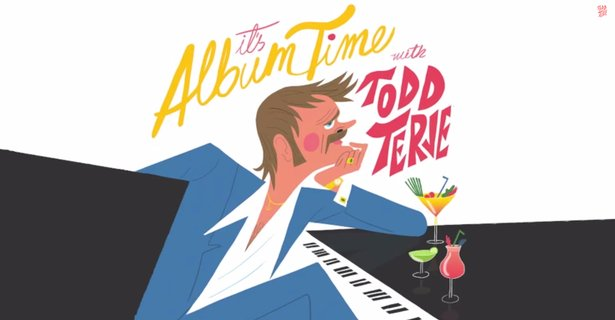 Cover art from Todd Terje's new album.