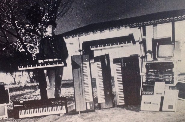 Marote's studio collection in 1987