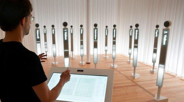 Dirigieren Sie das Effektorium im Mendelssohn-Bartholdy Museum