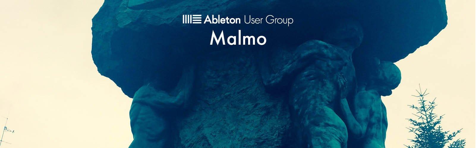 Malmo Ableton User Group Banner.jpg
