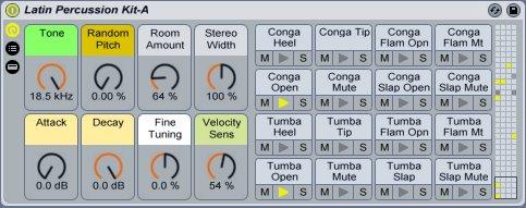 Latin Percussion | Ableton
