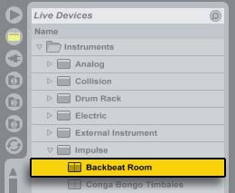 Backbeat Room Preset