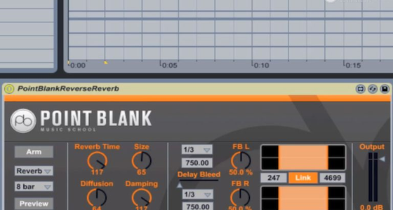 Reverse Reverb - Free Max for Live Effect from Point Blank