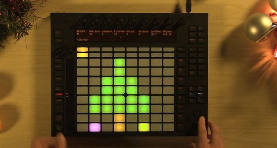 Happy Holidays from Ableton