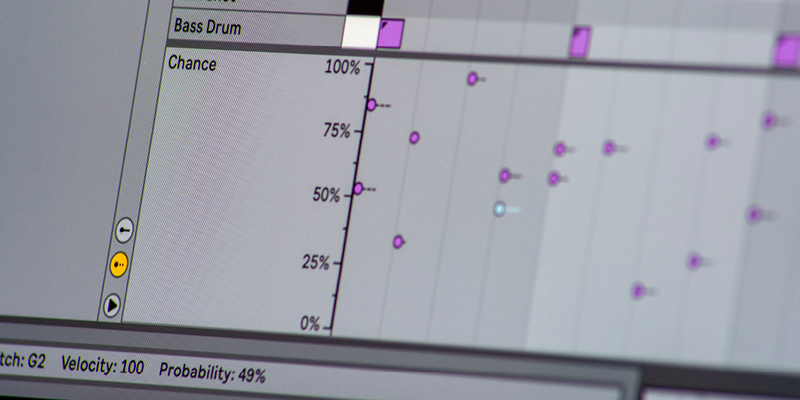 Take a Chance: Producing with Probability in Live 11