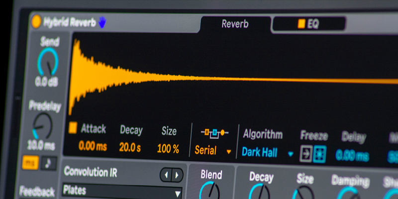 Hybrid Theory: Creative Sound Design with Live 11's New Reverb