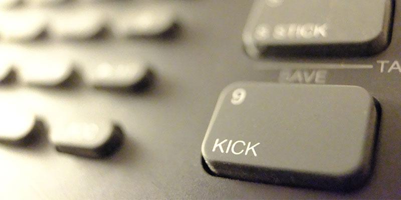 Drop It: The Kick in Electronic Music