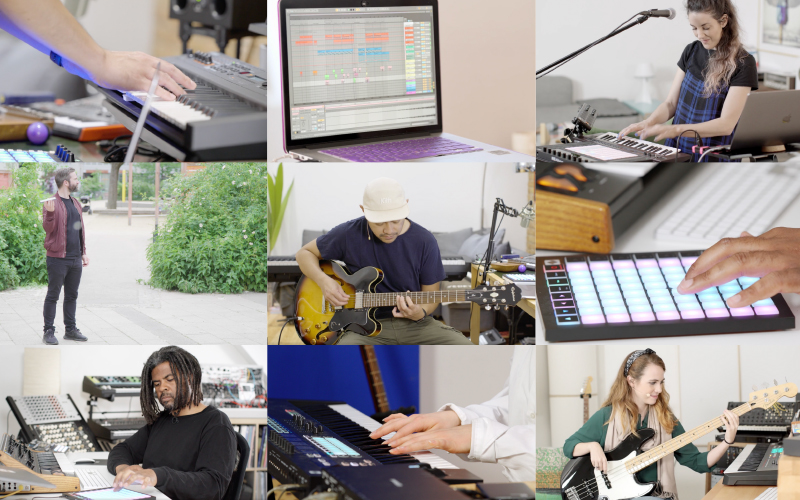 From the Ground Up: Watch Tracks Being Built in Our New Series, Made in Ableton Live