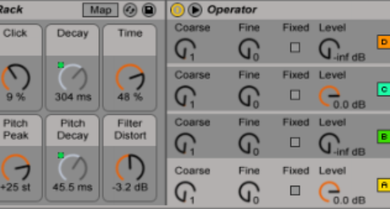 Free Operator-based Drum Racks from Fabrizio Poce