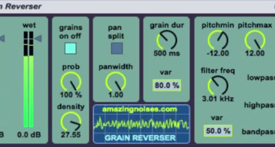 Granular Max for Live effects from Maurizio Giri