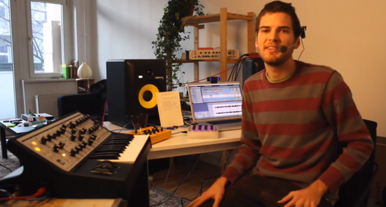 Hardware-Synthesizer in Live verwenden - Tutorial von Mad Zach und DJ Tech Tools
