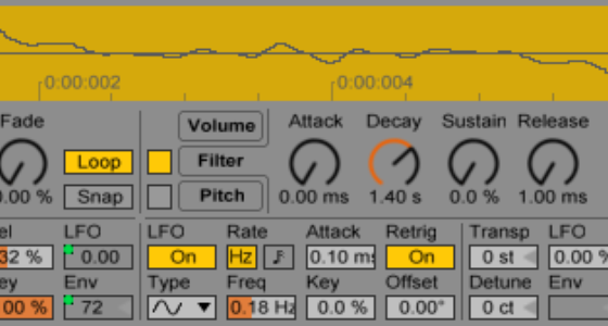 Free wavetable synth using Simpler