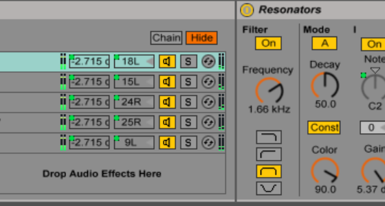 Free Effects Racks from the Seattle Ableton User Group