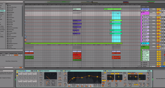Arranging a Track in Live 9 - new real-time demonstration from Point Blank