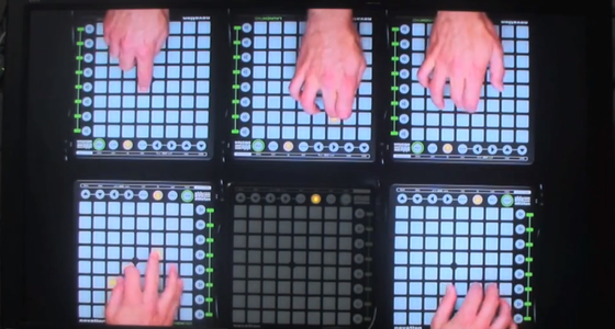 Daft Punk, Skrillex, a Launchpad and a TV - Conte's audiovisual remix