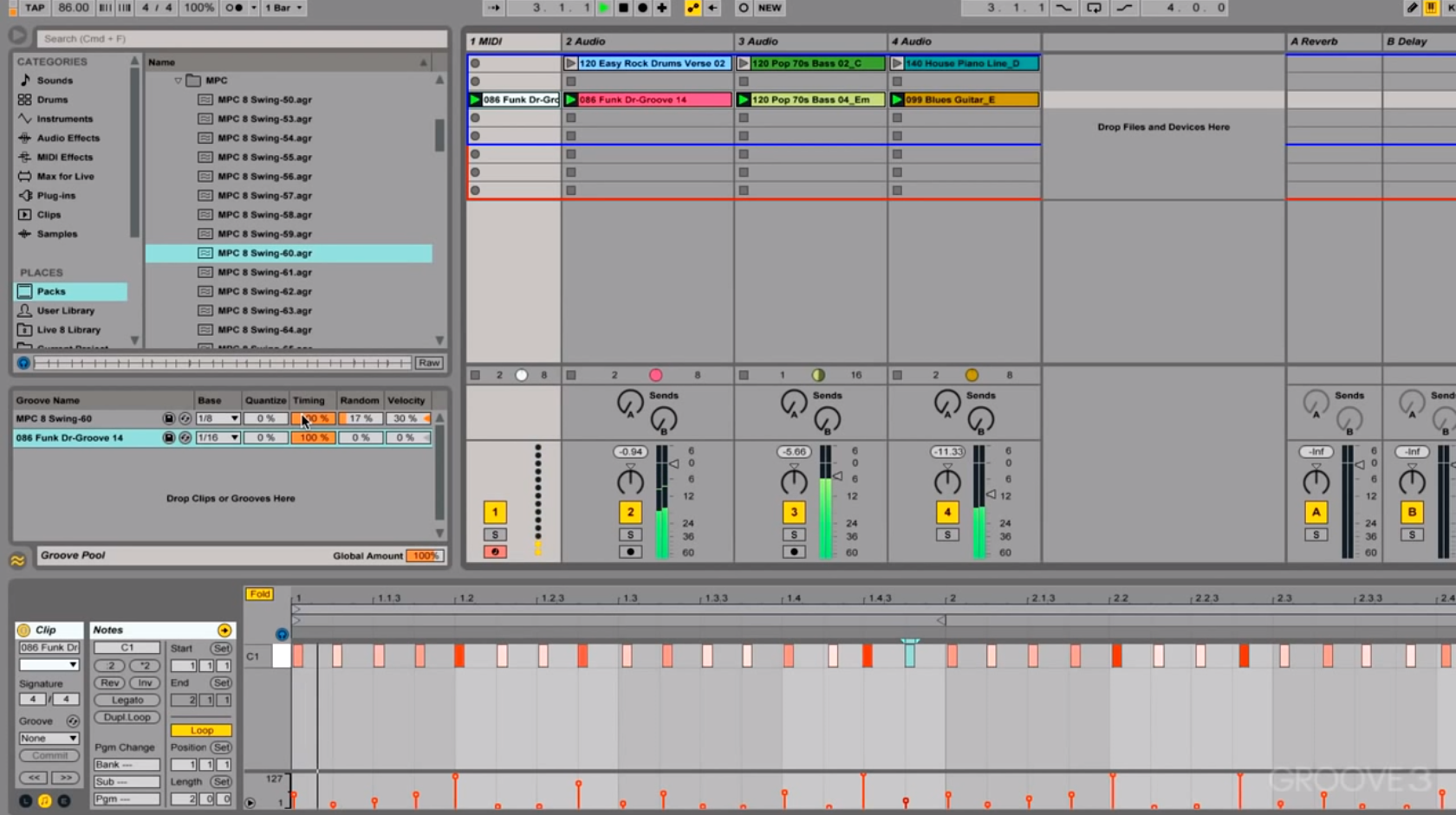 Get That Swing: Drum Programming Tips