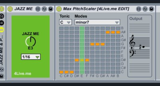 Solo with One Knob - Jazz Me, a new Max for Live Device