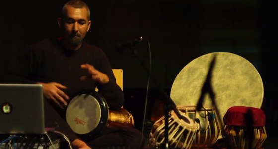 Live Drumming with Live: John Sterckx Builds and Improvises