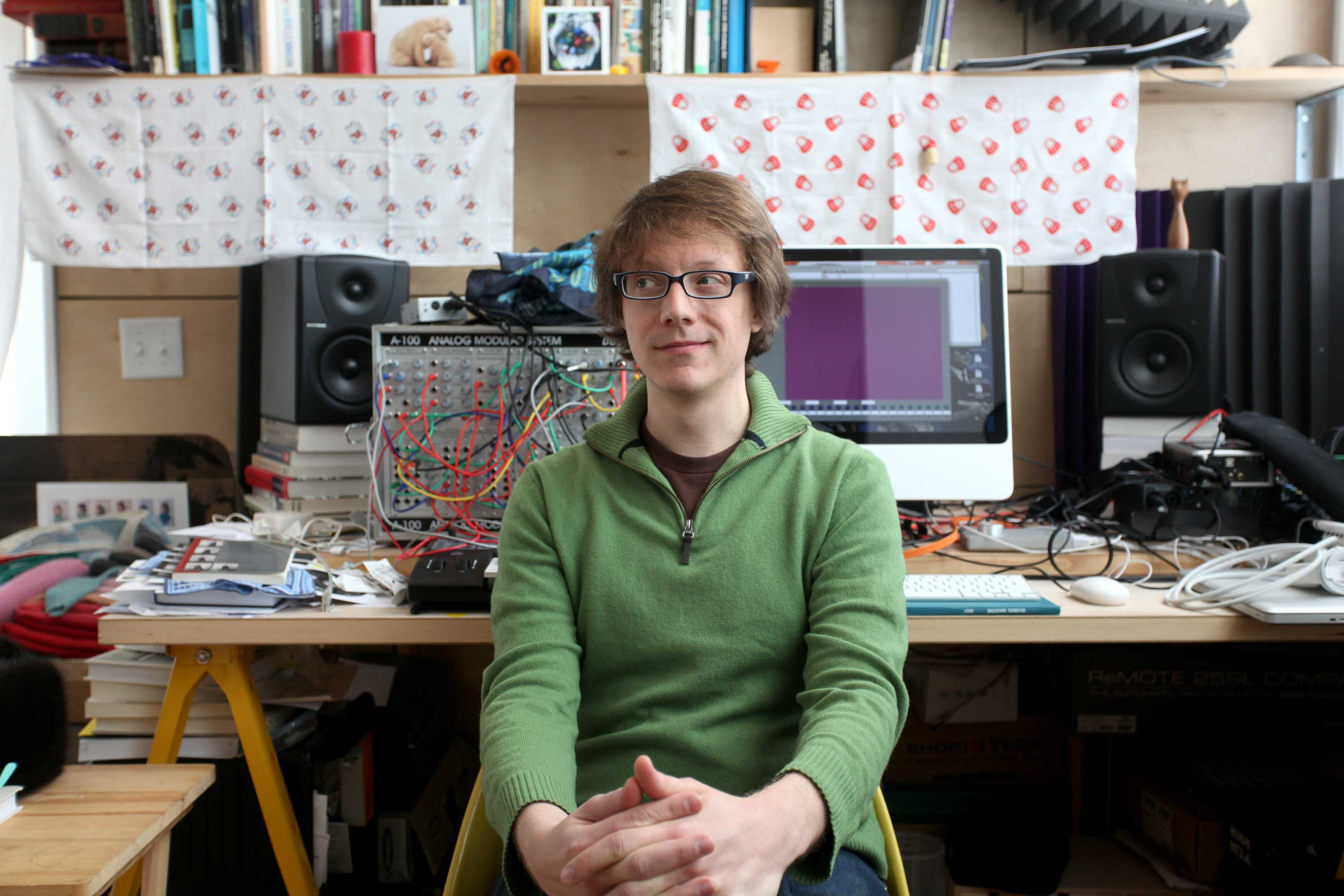 Jonathan Zorn on Google Translate Poetry, The Vocoder, and Max for Live